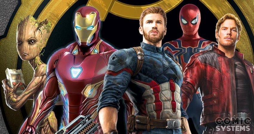 Avengers Infinity War: Un nouvel artwork des personnages principaux -  (actualité)