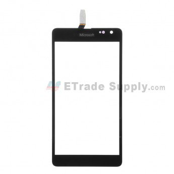 Microsoft Lumia 535 Dual SIM Digitizer Screen (2S Version) Black - ETrade Supply