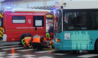 Vesoul : un piéton renversé par un bus