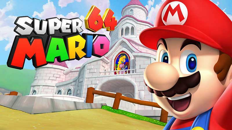 Jouer à Super Mario 64 en HD sur son navigateur web, c'est possible et c'est gratuit !