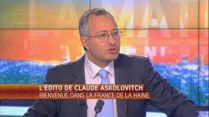 Bienvenue dans la France de la haine - L'édito d'Askolovitch