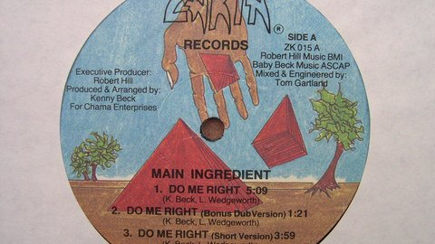 MAIN INGREDIENT - do me right - funk 1986