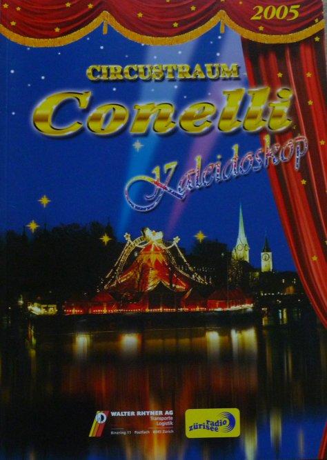 A vendre / On sale / Zu verkaufen / En venta / для продажи :  Programme Circus-Traum CONELLI 2005
