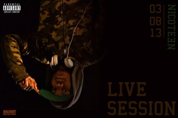 """Nicoteen annonce """"Live Session"""" pour le 03 Aout"""