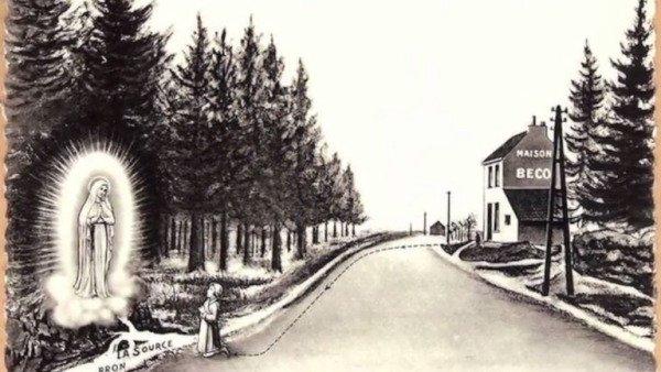 Vidéo-documentaire (12:33)Les Apparitions de Notre Dame des Pauvres à Banneux, le 15 Janvier 1933…
