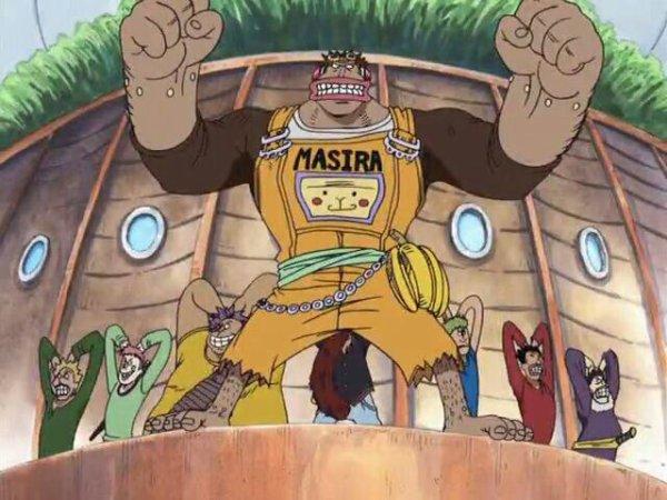 One Piece Chapitre 11: Les deux singes débiles, et la tortues géante!