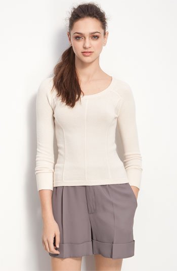 MARC BY MARC JACOBS 'Brigitte' Seamed Sweater   Nordstrom