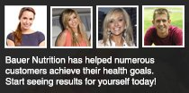 Sports Nutrition, Weight Loss, Diet, Health and Beauty Supplements Available At Bauer Nutrition