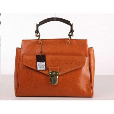 Famous Mulberry Polly Push Lock Tote Bag Oak Factory Online