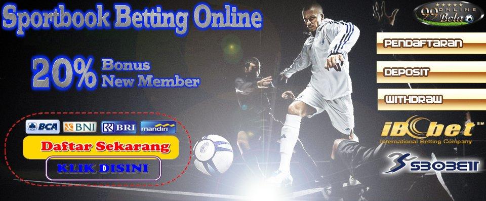 Cara Mendaftar Di Situs Judi Bola Online | 99 Bola