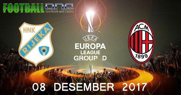 Prediksi RIJEKA vs AC MILAN 08 Desember 2017