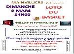 """Annonce """"Loto du Basket"""""""