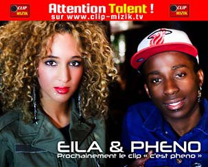Pheno & Eila dans Attention Talent ! émission animée par Lenna