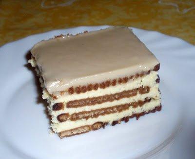 SUCRISSIME: le Gâteau aux Petit Beurre et au Café