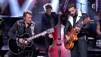 "Johnny Hallyday & Yodelice ""De l'amour"""