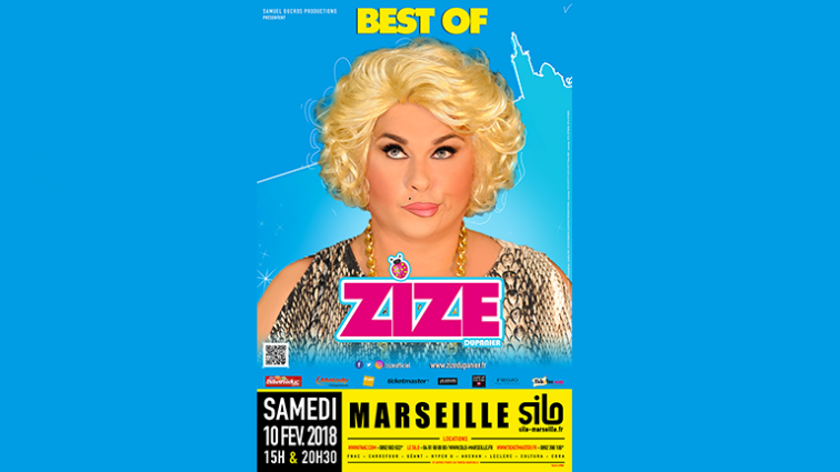 Spectacle Zize du Panier le 10 Février 2018 à 20h30 - Gay Marseille