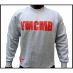 Sweat YMCMB gris et rouge
