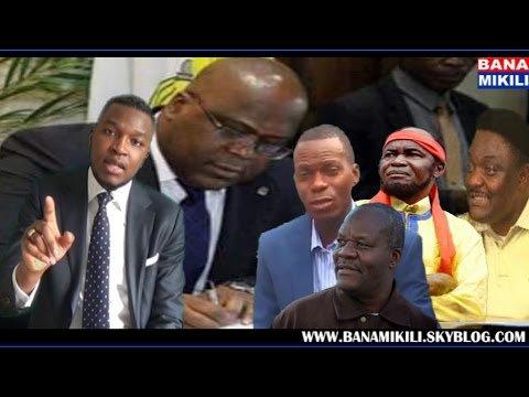 "Regardez ""Spécial Liloba ya opposition avec Ndeko Eliezeer, Ne Mwanda Nsemi,Olenga Nkoy, Lumbala et Félix"" sur YouTube"
