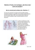 les albums Martine et leurs poupées