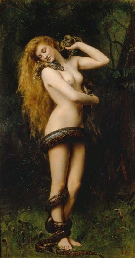 Lilith, première épouse d'Adam, démone de la luxure voleuse d'enfants, et ancienne déesse-mère