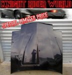 82 PONTIAC FIREBIRD KNIGHT RIDER KITT SUPERCAR HOOD NEW