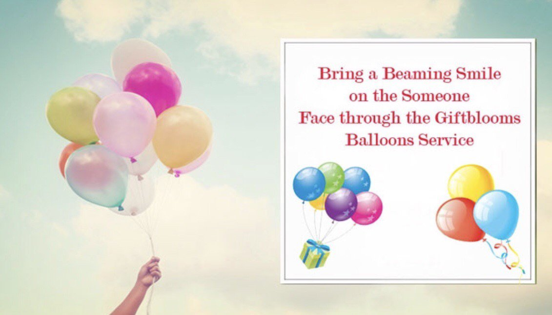 Lift up Your Mood with Bright Color of Balloons Bouquet