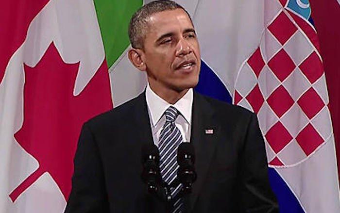 Obama filmé à Bilderberg: «Les États-Unis doivent s'abandonner au nouvel ordre mondial»
