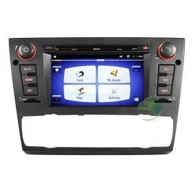 Android 4.0 Auto DVD Player GPS Navigationssystem für BMW E93 3 Series(2005 2006 2007 2008 2009 2010 2011 2012) Cabriolet (automatische Klimaanlage+beizbarer Sitz)