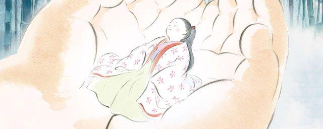 studio ghibli -Le Conte la la Princesse Kaguya, la bande-annonce poétique