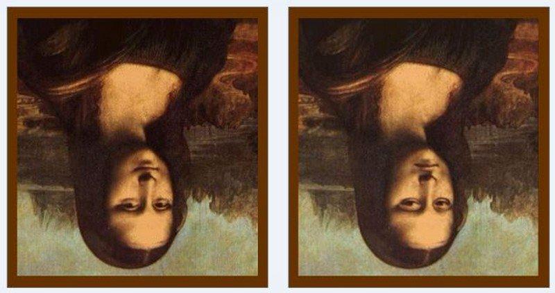 Illusion d'optique : ces deux portraits de Mona Lisa sont-ils vraiment identiques, selon vous ? | Medisite