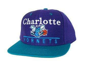 Casquette Neuve Ajustable Officielle NBA - CHARLOTTE HORNETS Snapback - Casquette Violette/Turquoise: Amazon.fr: Bienvenue