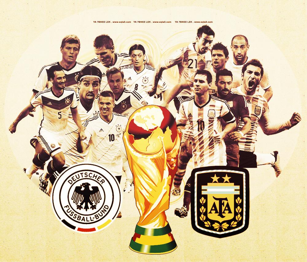 مشاهدة مباراة الارجنتين والمانيا بث مباشر