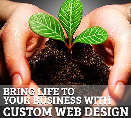 Bring Life to Your Business with Custom Web Design | Articles | Design Blog