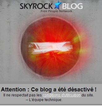 Bloguons-Ensemble a été désactivé réactivé
