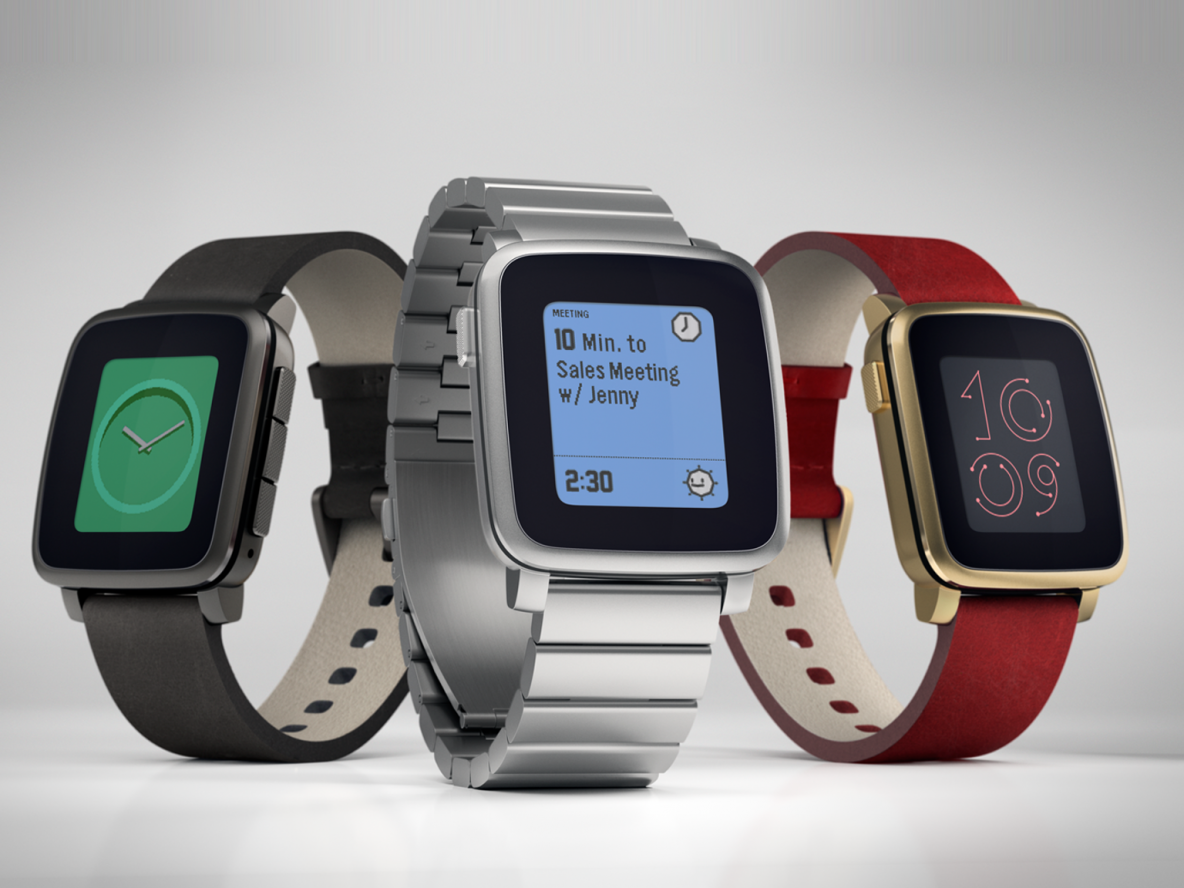 Pebble Time bat un nouveau record sur Kickstarter !
