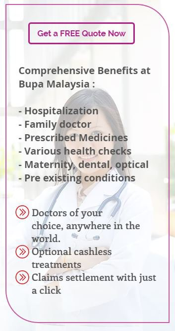 Bupa International Medical Insurance | Malaysia Health Insurance
