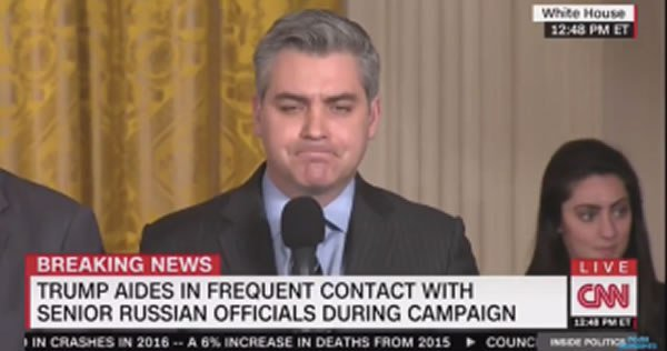 BURN! Citizen Journalist Confronts CNN's Jim Acosta On Reporting The Truth… But He Can't Handle The Truth [VIDEO]