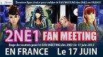 2NE1 EN FRANCE !!!!!!!!!