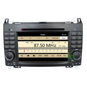 Auto DVD Player GPS Navigationssystem für Mercedes-Benz A-Klasse W169(2004 2005 2006 2007 2008 2009 2010 2011 2012)