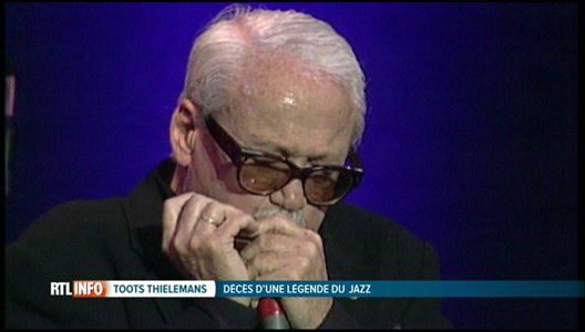 Décès de Toots Thielemans, légende belge du jazz, à l'âge de 94 ans