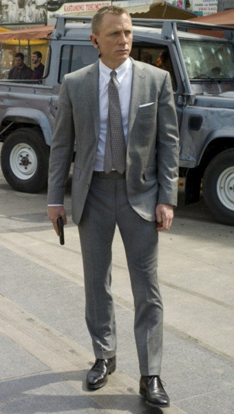 Grey James Bond Skyfall Suit