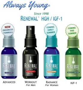 Always Young Renewal HGH – Reviews of All Formulas Right Here ! – Don't Miss It - Becoming an Alpha Male