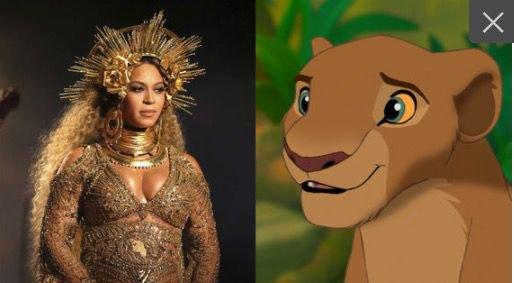 Pressentie pour doubler Nala dans le remake livedu Roi Lion, Beyoncé pourrait aussi produire la BO