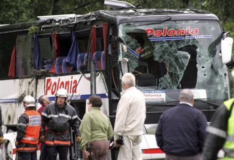 Trois morts dans un accident de car polonais près de la Belgique