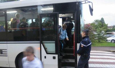 Les gendarmes lancent des contrôles inopinés des bus scolaires