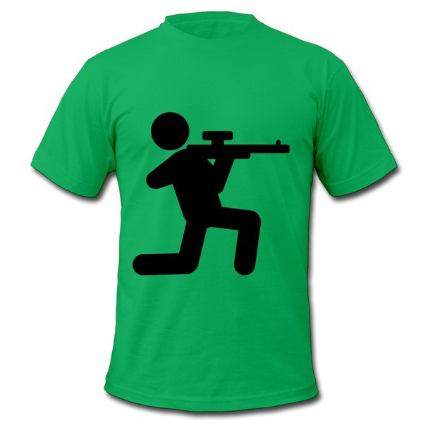 Affordable Airsofting Kelly Green Adult Standard Weight T-shirt For Men Store-Sports T-shirts |HICustom