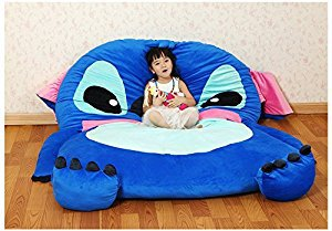 Amazon.com: Cute Cartoon Lilo&Stitch Image Sleeping Bag Sofa Bed Twin Bed Double Bed Mattress for Kids: Home & Kitchen