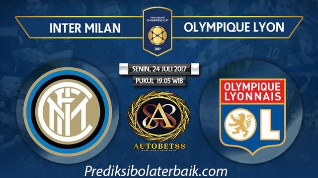 Prediksi Inter Milan vs Lyon 24 Juli 2017 - Prediksi Bola