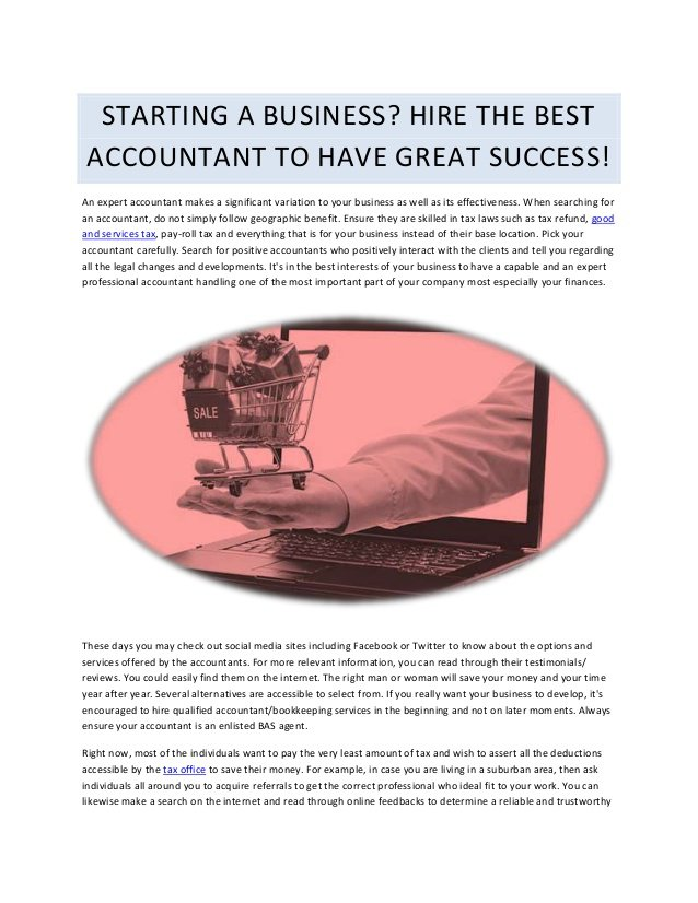 An expert accountant makes a significant variation to your business as well as its effectiveness. When searching for an accountant, do not simply follow geogra…