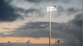 UFO Sightings UFOs Over Football Stadium HD VIDEO! August 29 2012 Watch Now!